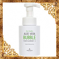 Пенка для умывания Aloe Vera Bubble Foam Cleanser The Skin House