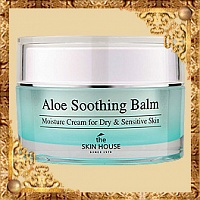 Крем-бальзам с экстрактом алоэ Aloe Soothing Balm The Skin House