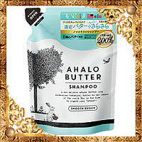 Восстанавливающий пенный шампунь Ahalo Butter Shampoo Smooth Repair