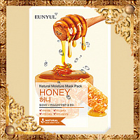 Тканевая маска с медом Eunyul Natural Moisture Mask Pack Honey