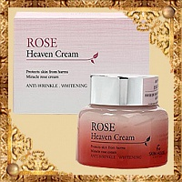 Крем для лица с экстрактом розы Rose Heaven Cream The Skin House