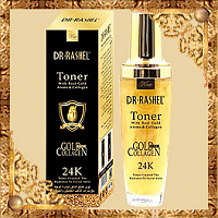 Гель-тонус для лица Dr Rashel Toner 24K Gold & Collagen