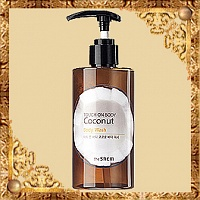 Гель для душа The Saem Touch On Body Coconut Body Wash с кокосовой водой