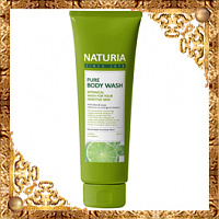 Гель для душа МЯТА/ЛАЙМ NATURIA PURE BODY WASH (Wild Mint & Lime), 100 мл