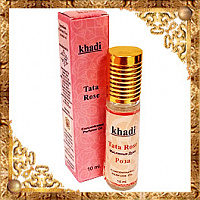 Масляные духи Роза Khadi Tata Rose Concentrated Perfume Oil