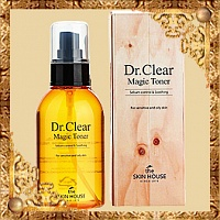 Тоник против воспалений Dr Clear Magic Toner The Skin House