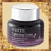 Крем для сужения пор и выравнивания тона лица White Tightening Cream The Skin House