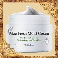 Крем для лица с экстрактом алоэ Aloe Fresh Moist Cream The Skin House
