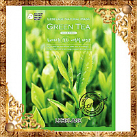 Маска тканевая с экстрактом зеленого чая Lebelage Green Tea Natural Mask