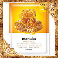 Тканевая маска для лица с экстрактом меда манука Bergamo Manuka Honey Mask Pack