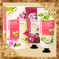 Набор кремов для рук Pink Flower Blooming Hand Cream 2 Set Farmstay