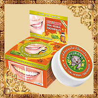 Зубная паста с экстрактом аниса Binturong Anise Thai Herbal Toothpaste