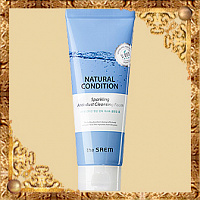 Пенка для умывания The Saem Natural Condition Sparkling Anti-dust Cleansing