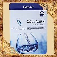 Маска для лица с коллагеном Collagen Visible Difference Mask Sheet FarmStay