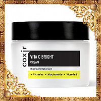 Крем выравнивающий тон кожи с витамином С Coxir Vita C Bright Cream