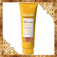 Гель для душа МЕД/ЛИЛИЯ NATURIA PURE BODY WASH (Honey & White Lily), 100 мл