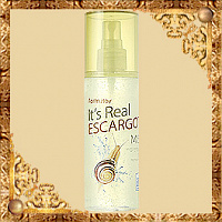Гель-спрей для лица с экстрактом улитки FarmStay It's Real Gel Mist Escargot