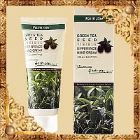 Крем для рук Green Tea Seed Visible Difference Hand Cream FarmStay