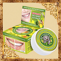 Зубная паста с экстрактом ананаса Binturong Pineapple Thai Herbal Toothpaste