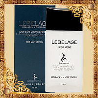 Увлажняющий лосьон для мужчин Lebelage Collagen + Green Tea Skincare Utilites For Men Lotion