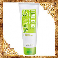 Пенка очищающая с экстрактом лайма Koelcia Lime Coke Cleansing Foam