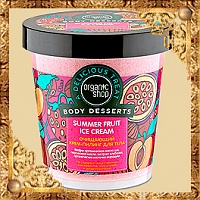 Крем-Пилинг для тела Summer Fruit Ice Cream Body Desserts Очищающий