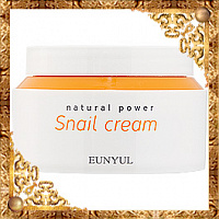 Крем для лица с муцином улитки Eunyul Natural Power Snail Cream