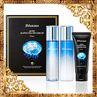Набор по уходу за лицом с экстрактом медузы JMsolution Active Jellyfish Vital Skin Care Set Prime