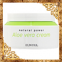 Крем для лица с экстрактом алоэ Eunyul Natural Power Aloe Cream